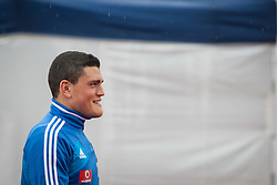 23.05.2012, Casino Stadion, Kitzbuehel, AUT, UEFA EURO 2012, Trainingscamp, Griechenland, Training, im Bild Kyriakos Papadopoulos, (GRE) // during a trainings Session of Greece National Footballteam for preparation UEFA EURO 2012 at Casino Stadium, Kitzbuehel, Austria on 2012/05/23. EXPA Pictures © 2012, PhotoCredit: EXPA/ Juergen Feichter