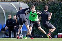 *Guus Til* of AZ Alkmaar, *Mats Seuntjens* of AZ Alkmaar, *Joris van Overeem* of AZ Alkmaar,