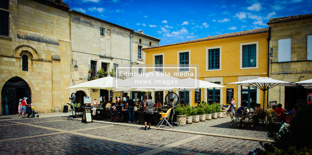 A square in Saint Emilion, France near the Cathedral<br /> <br /> (c) Andrew Wilson | Edinburgh Elite media