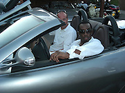 **EXCLUSIVE**.P Diddy and Penelope at Nikki Beach.St. Tropez, France..Sunday, July 29, 2007.Photo By Celebrityvibe.com.To license this image please call (212) 410 5354; or.Email: celebrityvibe@gmail.com ;.