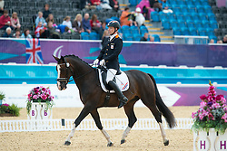 Bolmer Gert (NED) - Vorman<br /> Team Test - Grade II - Dressage <br /> London 2012 Paralympic Games<br /> © Hippo Foto - Jon Stroud