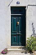Doorway, Ile de Re region of France.