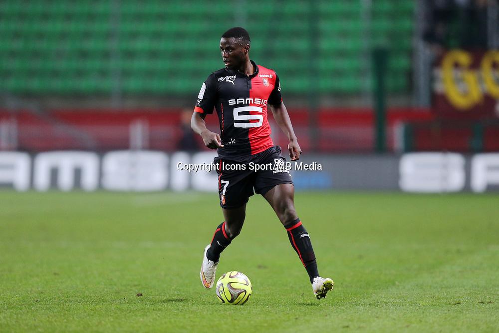 Paul Georges NTEP  - 07.03.2015 -  Rennes / Metz -  28eme journee de Ligue 1 <br />Photo : Vincent Michel / Icon Sport