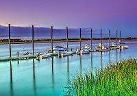 Sunset at the Isle of Palms Marina