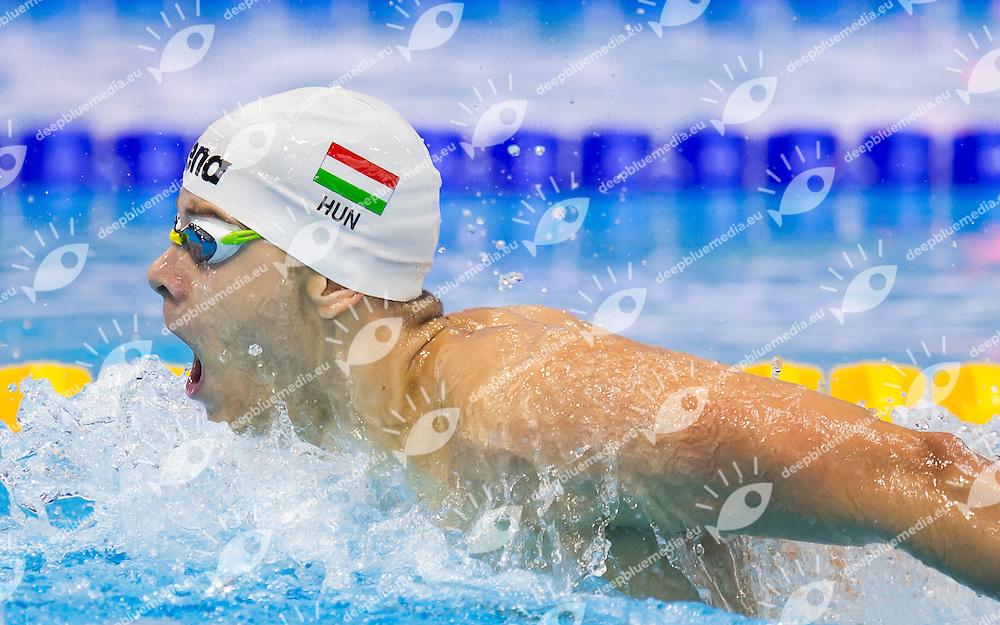 KENDERESI Tamas HUN<br /> London, Queen Elizabeth II Olympic Park Pool <br /> LEN 2016 European Aquatics Elite Championships <br /> Swimming<br /> Men's 200m butterfly preliminary  <br /> Day 10 18-05-2016<br /> Photo Giorgio Perottino/Deepbluemedia/Insidefoto