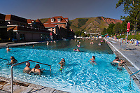 Mineral Pools, Glenwood Hot Springs, Glenwood Springs, Colorado USA