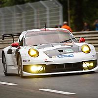 #91 Porsche 911 RSR, Porsche AG Team Manthey, drivers: Bergmeister, Bernhard, Pilet, Le Mans 24H 2013