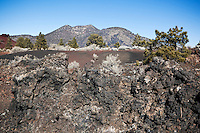 Dry Lava and O'Leary Peak, Sunset Crater Volcano National Monument, Arizona
