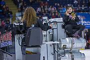 KELOWNA, CANADA - FEBRUARY 02:  Orchard Park Zamboni Rider at the Kelowna Rockets game on February 02, 2018 at Prospera Place in Kelowna, British Columbia, Canada.  (Photo By Cindy Rogers/Nyasa Photography,  *** Local Caption ***