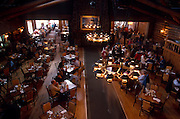 Restaurant, Old Faithful Lodge, near Old Faithful, Yellowstone National Park, Wyoming..Subject photograph(s) are copyright Edward McCain. All rights are reserved except those specifically granted by Edward McCain in writing prior to publication...McCain Photography.211 S 4th Avenue.Tucson, AZ 85701-2103.(520) 623-1998.mobile: (520) 990-0999.fax: (520) 623-1190.http://www.mccainphoto.com.edward@mccainphoto.com