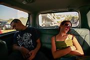 Sleeping Passengers, Falougha, Lebanon 2010