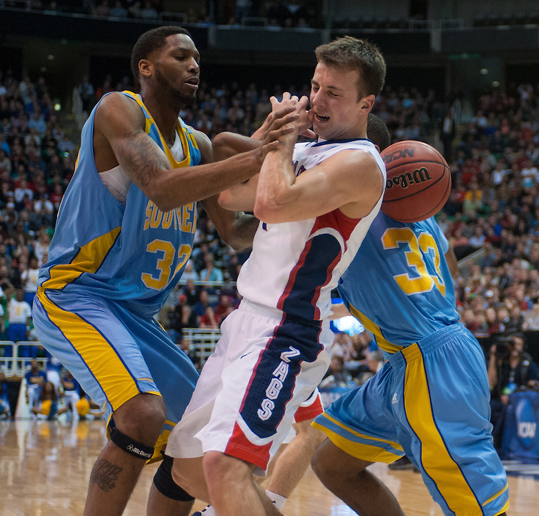 Gonzaga Men's Basketball Round of 64 v. Southern in the 2013 NCAA Tournament<br />