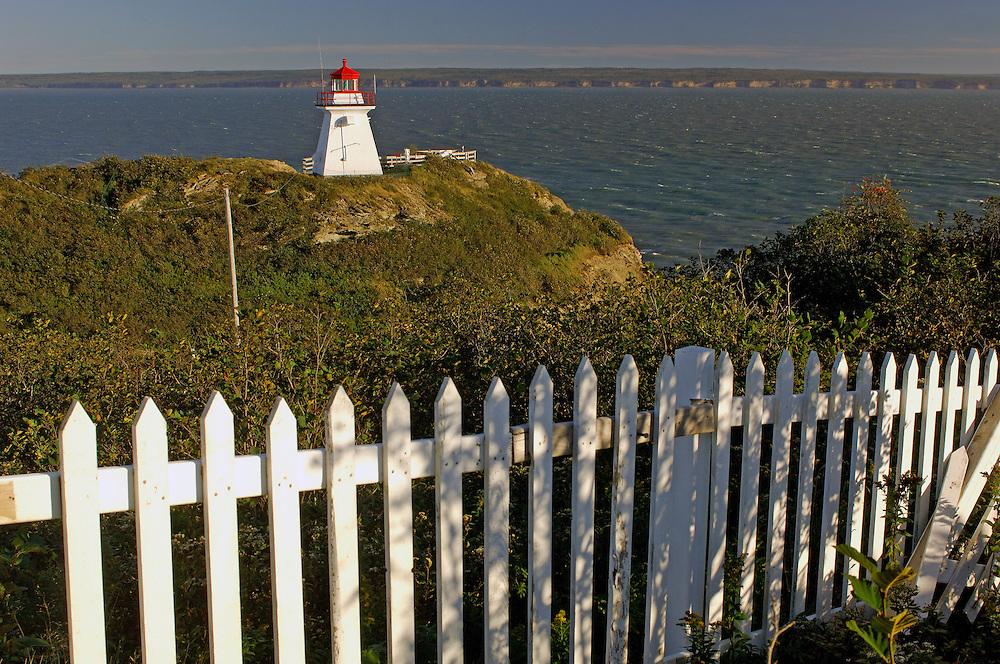 Cape Enrage Lighthouse, Bay of Fundy, New Brunswick, Canada