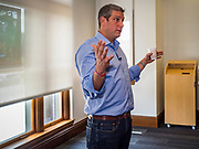 "01 JUNE 2019 - AMES, IOWA: Congressman TIM RYAN (D-OH) speaks at a campaign event in Ames Saturday. Ryan declared his candidacy for the US Presidency on the US television show ""The View"" on April 4. Ryan represents Ohio's 13th District, which includes Lordstown, where a large General Motors plant recently closed. Iowa traditionally hosts the the first election event of the presidential election cycle. The Iowa Caucuses will be on Feb. 3, 2020.               PHOTO BY JACK KURTZ"