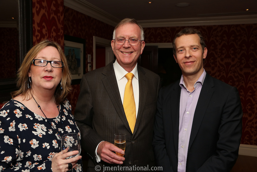 John Deacon retirement dinner, Covent Garden Hotel, London..Monday, May.21, 2012 (John Marshall JME)