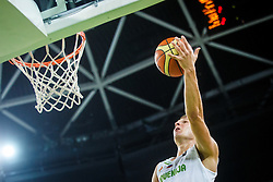 Edo Muric of Slovenia during qualifying match between Slovenia and Kosovo for European basketball championship 2017,  Arena Stozice, Ljubljana on 31th August, Slovenia. Photo by Grega Valancic / Sportida