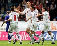 ◊Copyright:<br />GEPA pictures<br />◊Photographer:<br />Thomas Karner<br />◊Name:<br />Koller<br />◊Rubric:<br />Sport<br />◊Type:<br />Fussball<br />◊Event:<br />FIFA WM 2006, Qualifikation, Tschechien vs Andorra, CZE vs AND<br />◊Site:<br />Liberec, Tschechien<br />◊Date:<br />04/06/05<br />◊Description:<br />Torjubel mit Karel Poborsky, Jan Koller und Milan Baros (CZE)<br />◊Archive:<br />DCSTK-0406054010<br />◊RegDate:<br />05.06.2005<br />◊Note:<br />OK/JM - Nutzungshinweis: Es gelten unsere Allgemeinen Geschaeftsbedingungen (AGB) bzw. Sondervereinbarungen in schriftlicher Form. Die AGB finden Sie auf www.GEPA-pictures.com.<br />Use of picture only according to written agreements or to our business terms as shown on our website www.GEPA-pictures.com