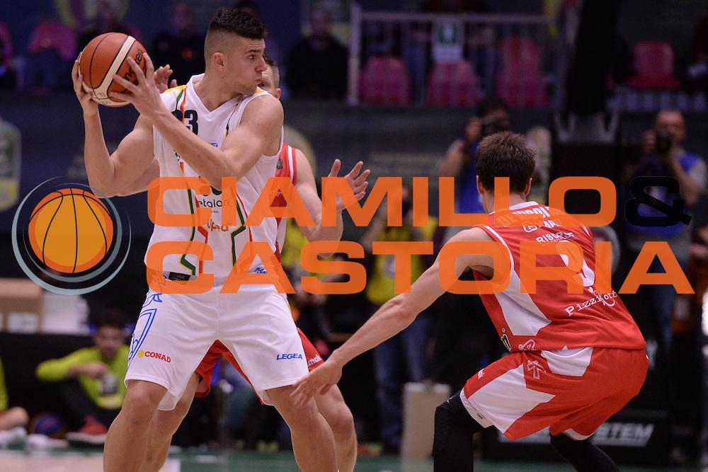 Stojanovic Vojislav<br /> Grissin Bon Reggio Emilia - Betaland Capo D'Orlando  <br /> Poste Mobile Final Eight F8 2017 <br /> Lega Basket 2016/2017<br /> Rimini, 16/02/2017<br /> Foto Ciamillo-Castoria/M.Longo