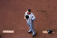 Hector Santiago #53 of the Chicago White Sox stands during the national anthem before a game against the Minnesota Twins on May 13, 2013 at Target Field in Minneapolis, Minnesota.  The Twins defeated the White Sox 10 to 3.  Photo: Ben Krause