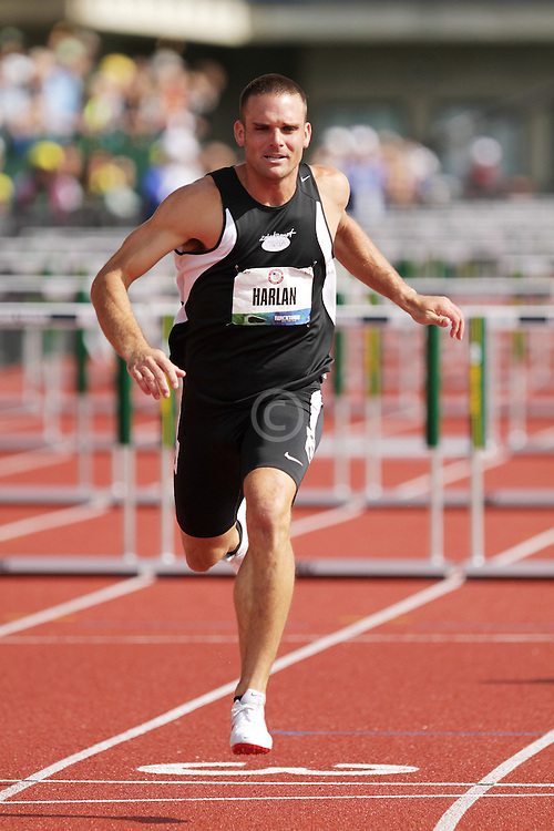 Olympic Trials Eugene 2012: Decathlon, 110 Meter Hurdles, Ryan Harlan