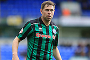 Grant Holt during the Sky Bet League 1 match between Peterborough United and Rochdale at London Road, Peterborough, England on 9 April 2016. Photo by Daniel Youngs.