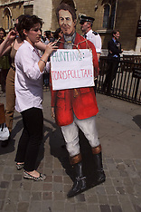 JUN 12 2000 Pro Fox Hunting Protest