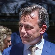 NLD/Den Haag/20180705 - Binnenhof BBQ 2018, Mark Harbers<br /> Staatssecretaris van Justitie en Veiligheid