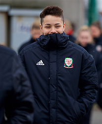 BOLOGNA, ITALY - Tuesday, January 22, 2019: Wales' Grace Horrell during a pre-match walk at the team hotel in Bologna ahead of the International Friendly game against Italy. (Pic by David Rawcliffe/Propaganda)