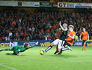 James McPake scores with the last kick of the ball - Dundee United v Dundee at Tannadice<br /> - Ladbrokes Premiership<br /> <br />  - &copy; David Young - www.davidyoungphoto.co.uk - email: davidyoungphoto@gmail.com