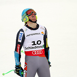 06.02.2013, Planai, Schladming, AUT, FIS Weltmeisterschaften Ski Alpin, Super-G, Herren, im Bild Ted Ligety (USA), 1. Platz // Ted Ligety of United States, 1st place, during Super-G Men at the FIS Ski World Championships 2013 at the Planai Course, Schladming, Austria on 2013/02/06. EXPA Pictures © 2013, PhotoCredit: EXPA/ Martin Huber