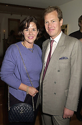 LORD & LADY IVAR MOUNTBATTEN at a reception in London on 26th September 2000.OHI 15
