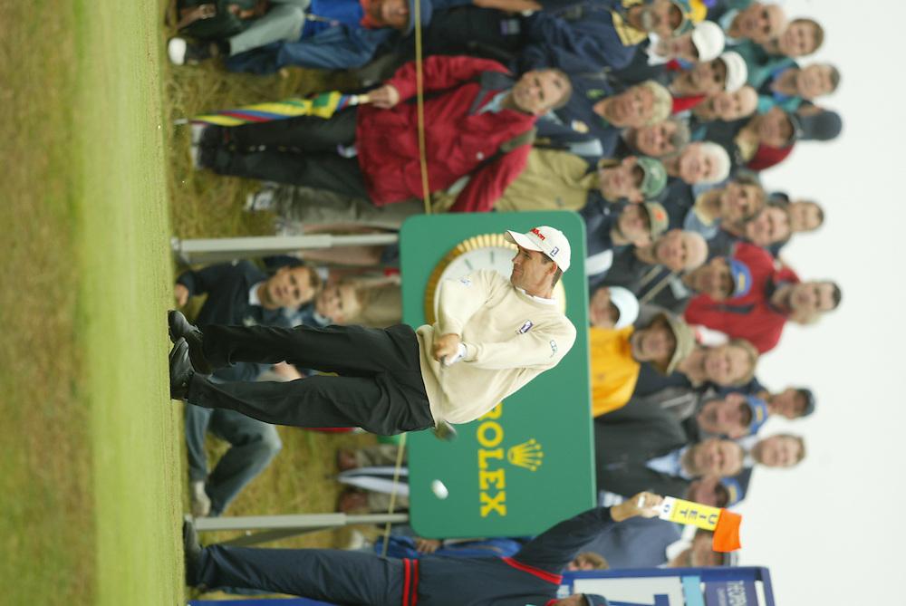 Padraig Harrington..2003 British Open..First Round..Royal St. George's Golf Club..Sandwich, Kent, England..Thursday, July 17  2003..photograph by Darren Carroll