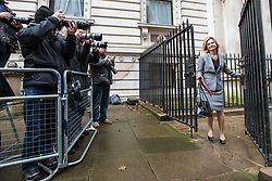© Licensed to London News Pictures. 08/03/2017. London, UK. Education Secretary Justine Greening arrives on Downing Street for Cabinet. The government will unveil the budget today. Photo credit: Rob Pinney/LNP