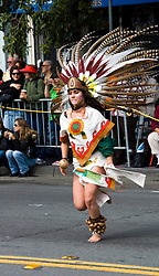 California: San Francisco Carnaval festival parade in the Mission District. Photo copyright Lee Foster. Photo # 30-casanf81301