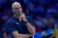 Usa coach John Speraw<br /> Torino 30-09-2018 Pala Alpitour <br /> FIVB Volleyball Men's World Championship <br /> Pallavolo Campionati del Mondo Uomini <br /> Finals / 3th place<br /> Serbia - USA  <br /> Foto Antonietta Baldassarre / Insidefoto