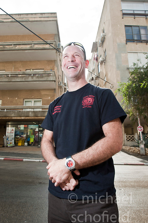 Amnon Darsa, head of testing commitee for IKMF. Day ten on the Train & Travel in Israel, on Sunday 9th Jan 2011. Train & Travel is a unique ten day program designed for IKMF's instructors, students & guests, interested in combining Krav Maga training with a tour of the holy land..©2011 Michael Schofield. All Rights Reserved.