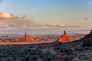 Scenic area outside of Monument Valley.