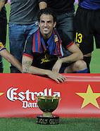 Fussball international 2011, Gamper Cup: FC Barcelona - SSC Neapel