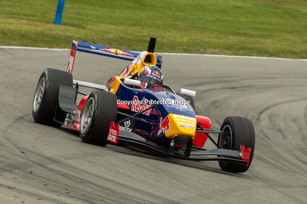 Danill Kvyat, TRS driver, New Zealand 2011