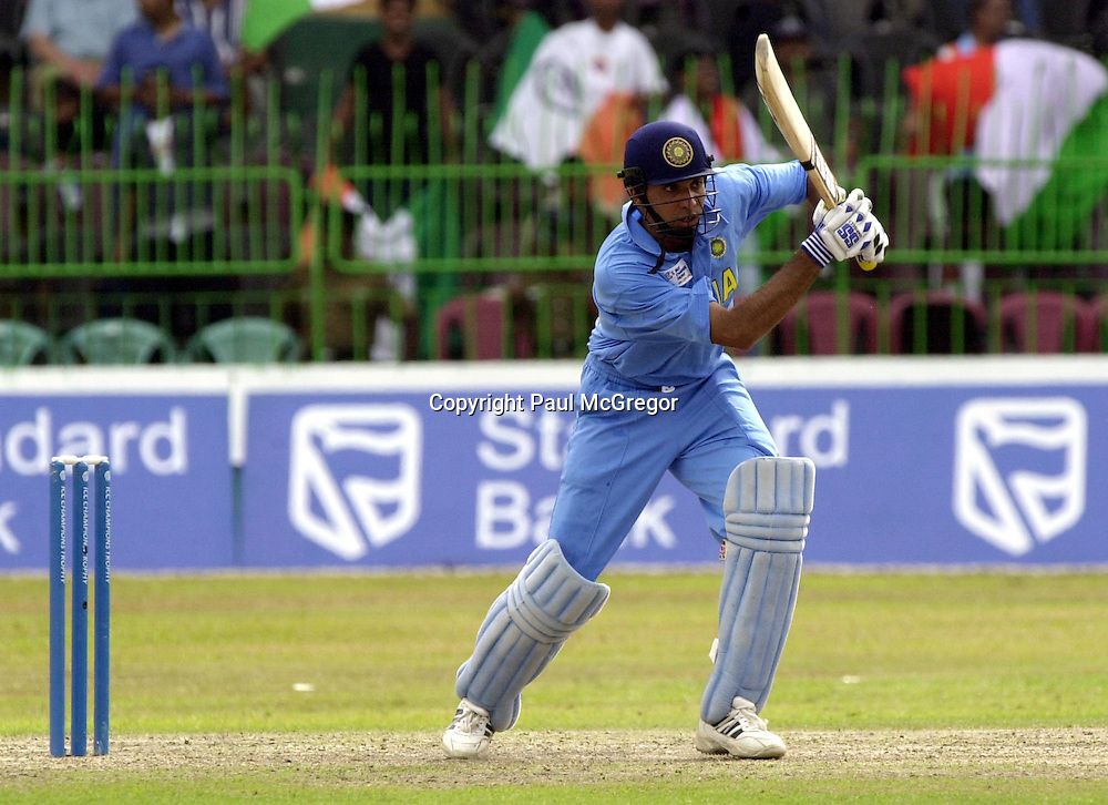 VVS Laxman of India pictured at the ICC Trophy played in Colombo Sri Lanka, September 2002<br />PHOTO: Paul McGregor/PHOTOSPORT