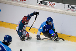 GBR v ITA during the 2013 World Para Ice Hockey Qualifiers for Sochi, Torino, Italy