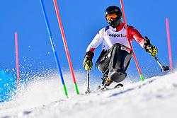 SIKORSKI Igor, LW11, POL, Slalom at the WPAS_2019 Alpine Skiing World Cup, La Molina, Spain