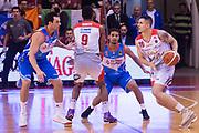 De Vico Nicolo<br /> Grissin Bon Reggio Emilia - Red October Cantu<br /> Lega Basket Serie A 2017/2018<br /> Reggio Emilia, 30/12/2017<br /> Foto A.Giberti / Ciamillo - Castoria