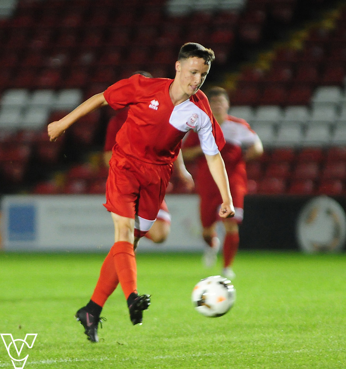 Lincoln City under 21s Vs CGB Humbertherm under 21s - Lincolnshire FA U21 Development League - Sincil Bank - Lincoln.<br /> <br /> Picture: Andrew Vaughan<br /> Date: September 5, 2016