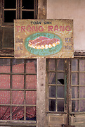 Old Dentures Sign on Shop Wall, Vietnam, September 2000