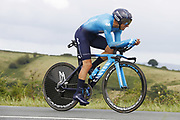 Mikel Landa (ESP - Movistar) during the 105th Edition of Tour de France 2018, cycling race stage 20, time trial, Saint Pee sur Nivelle - Espelette (31 km) on July 28, 2018 in Espelette, France - Photo Luca Bettini / BettiniPhoto / ProSportsImages / DPPI