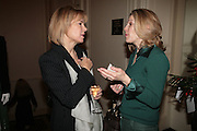 Mrs. Pierre Winkler and hon Mrs. Charles James, NCH Spring Ladies lunch. NCH, the children's charity, helps children and young people facing difficulties or challenges in their lives. Mandarin Oriental Hotel. 8 March 2007.  -DO NOT ARCHIVE-© Copyright Photograph by Dafydd Jones. 248 Clapham Rd. London SW9 0PZ. Tel 0207 820 0771. www.dafjones.com.