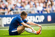 Chelsea (10) Eden Hazard during the The FA Cup match between Chelsea and Southampton at Wembley Stadium, London, England on 22 April 2018. Picture by Sebastian Frej.