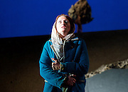 The Siege of Calais <br /> English Touring Opera at Hackney Empire, London, Great Britain <br /> rehearsal <br /> 2nd March 2015 <br /> <br /> music by Dinizetti <br /> words by Salvatore Cammarano <br /> directed by James Conway <br /> <br /> <br /> <br /> Paula Sides as Eleonora<br /> <br /> <br /> <br /> Photograph by Elliott Franks <br /> Image licensed to Elliott Franks Photography Services