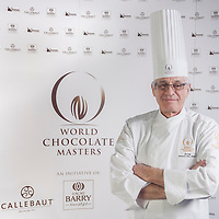 Judge Roland DelMonte. World Chocolate Masters Canadian Selection, January 20, 2013.